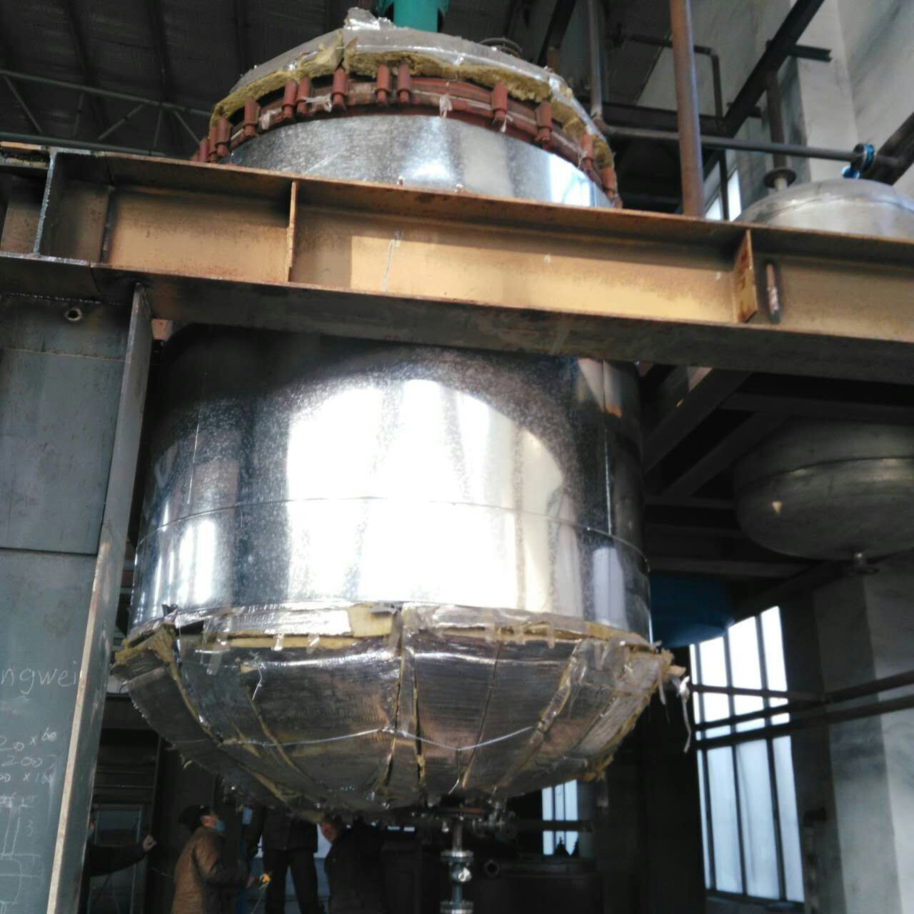 岩棉管管道保温安装铝板设备保温施工队